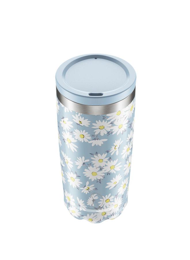 Chilly's Kaffeebecher wiederverwendbar 500ml Floral Edition -Daisy Flower