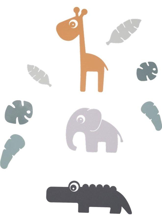 Done by Deer Tiny Tropics Wandaufkleber