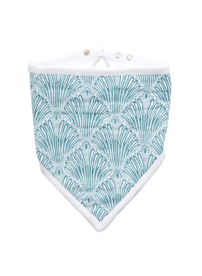 aden + anais bandana bib paisley blue