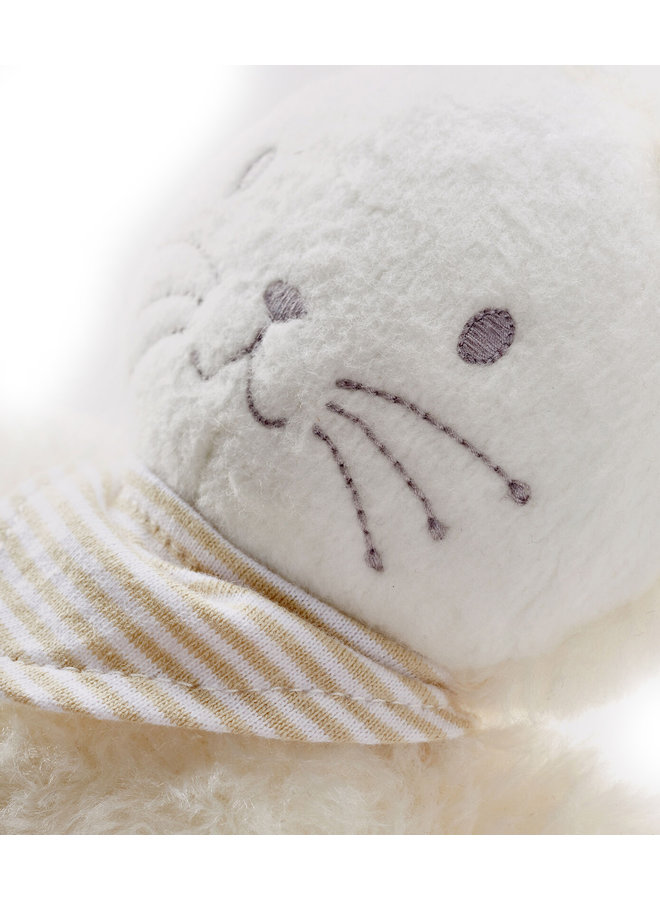 Petit Bateau Spieluhr Kuschelhäschen weiß