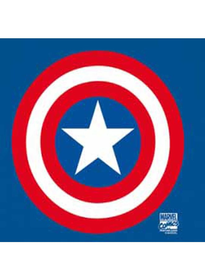 LOGOSHIRT T-Shirt Shield Captain America Marvel