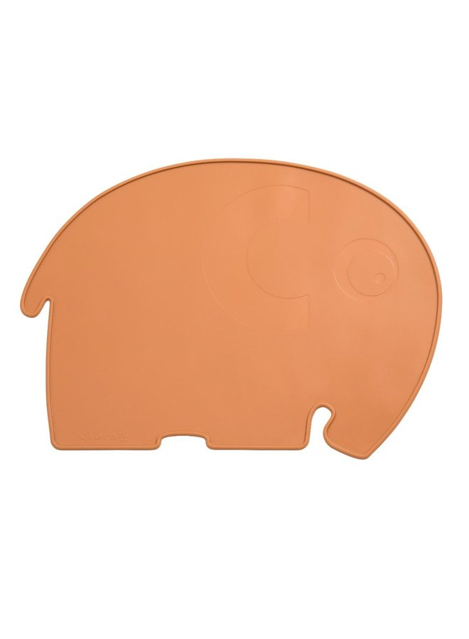 SEBRA Platzdecke Fanto der Elefant toasted orange