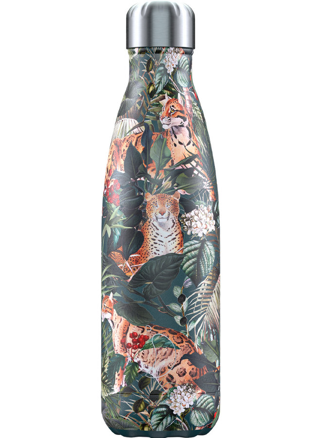 Chilly's Trinkflasche 500ml Tropical Edition Leopard