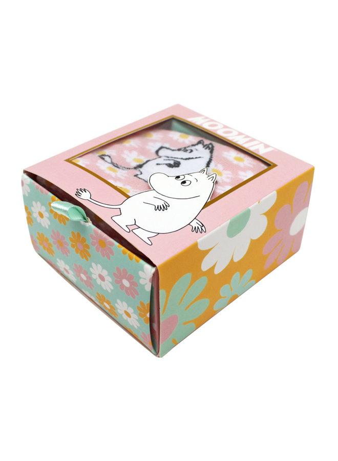 House of Disaster Socken Mumin Gänseblümchen mit schönem Print