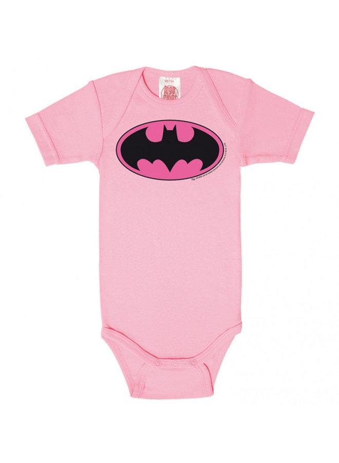 LOGOSHIRT Baby Body Batgirl rosa pink