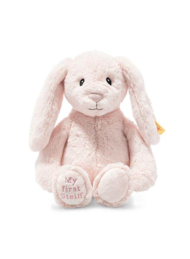 Steiff Soft Cuddly Friend Hoppie 28cm Hase rosa