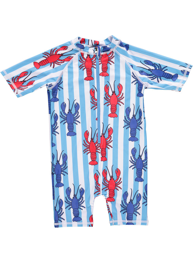 SMAFOLK Schwimmanzug Hummer Krabbe UV Schutz Badeanzug