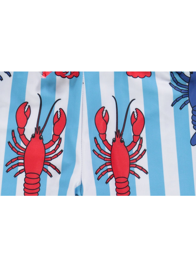 SMAFOLK Badeshorts  Hummer Krabbe UV Schutz Badehose