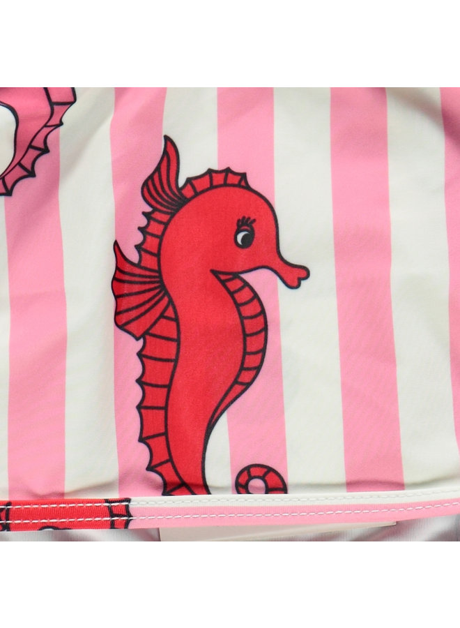 SMAFOLK Tankini Seepferdchen rosa UV Schutz Badeanzug