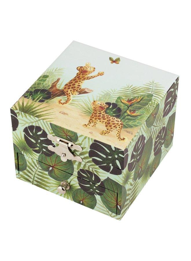 Trousselier - Savanne Musical / Savane Cube Spieluhr