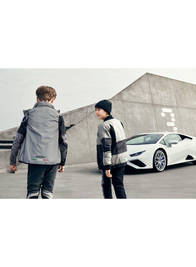 Automobili Lamborghini Mütze Beanie dunkelgrau