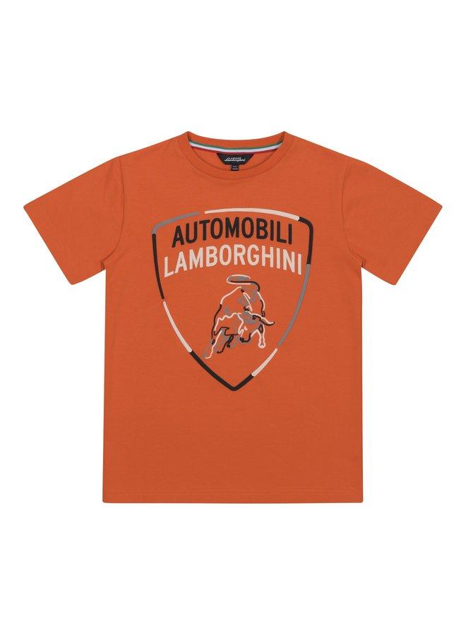 Automobili Lamborghini Kidswear T-Shirt orange