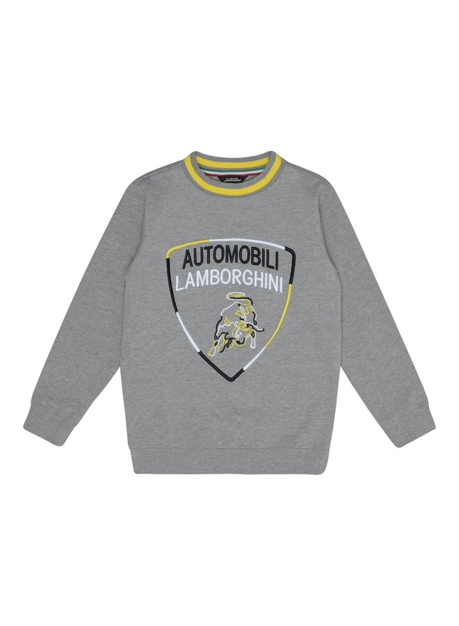 Automobili Lamborghini Kidswear Sweatshirt grau