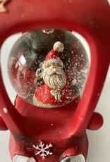 EDG FUN: Sneeuwbal auto met lichtjes Rood
