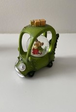 EDG FUN: Sneeuwbal auto met lichtjes Groen