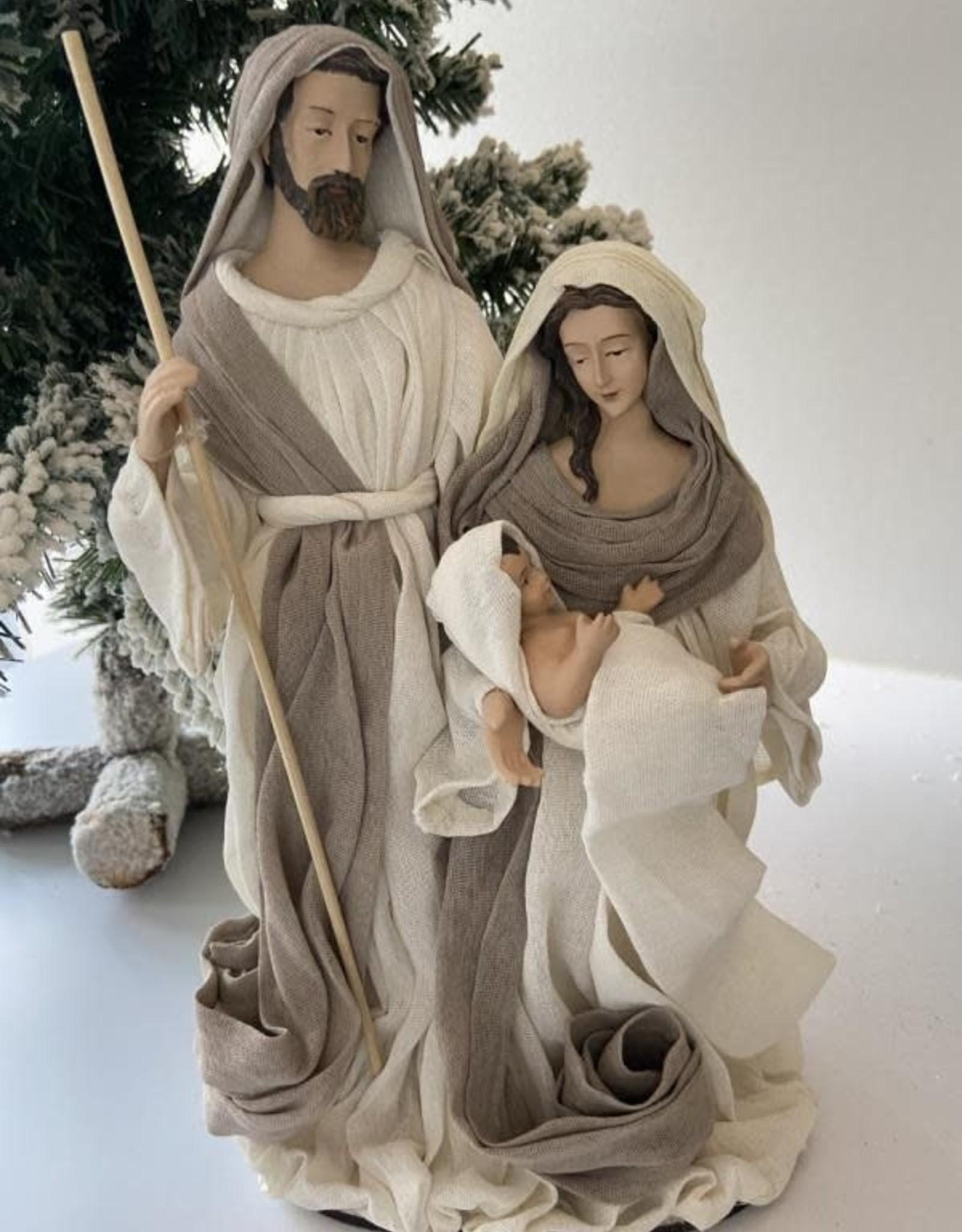 EDG Kerststal groot H 28cm
