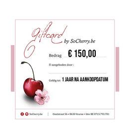 Geschenkbon 150 euro