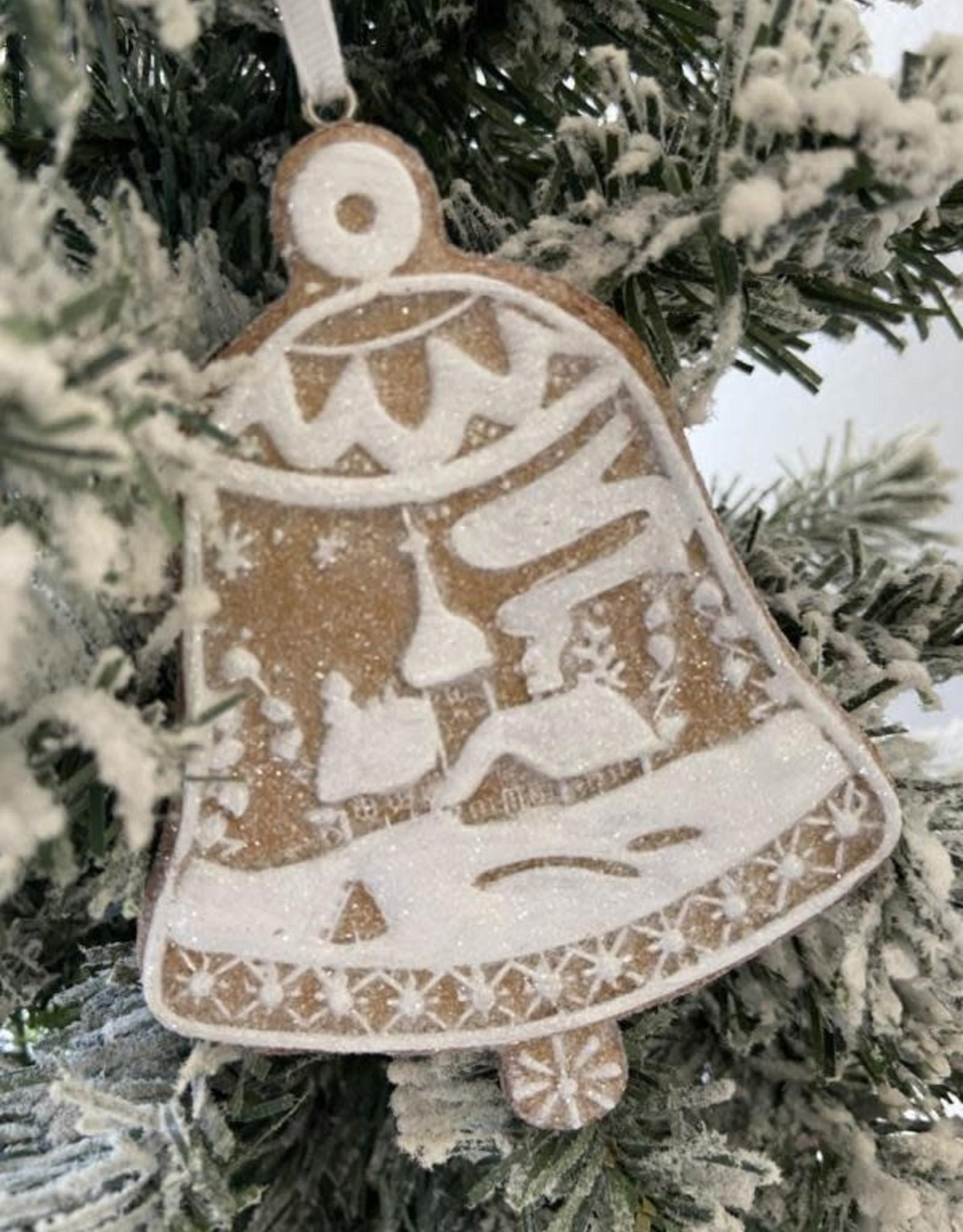 EDG Kerstkoekje klok 11 cm