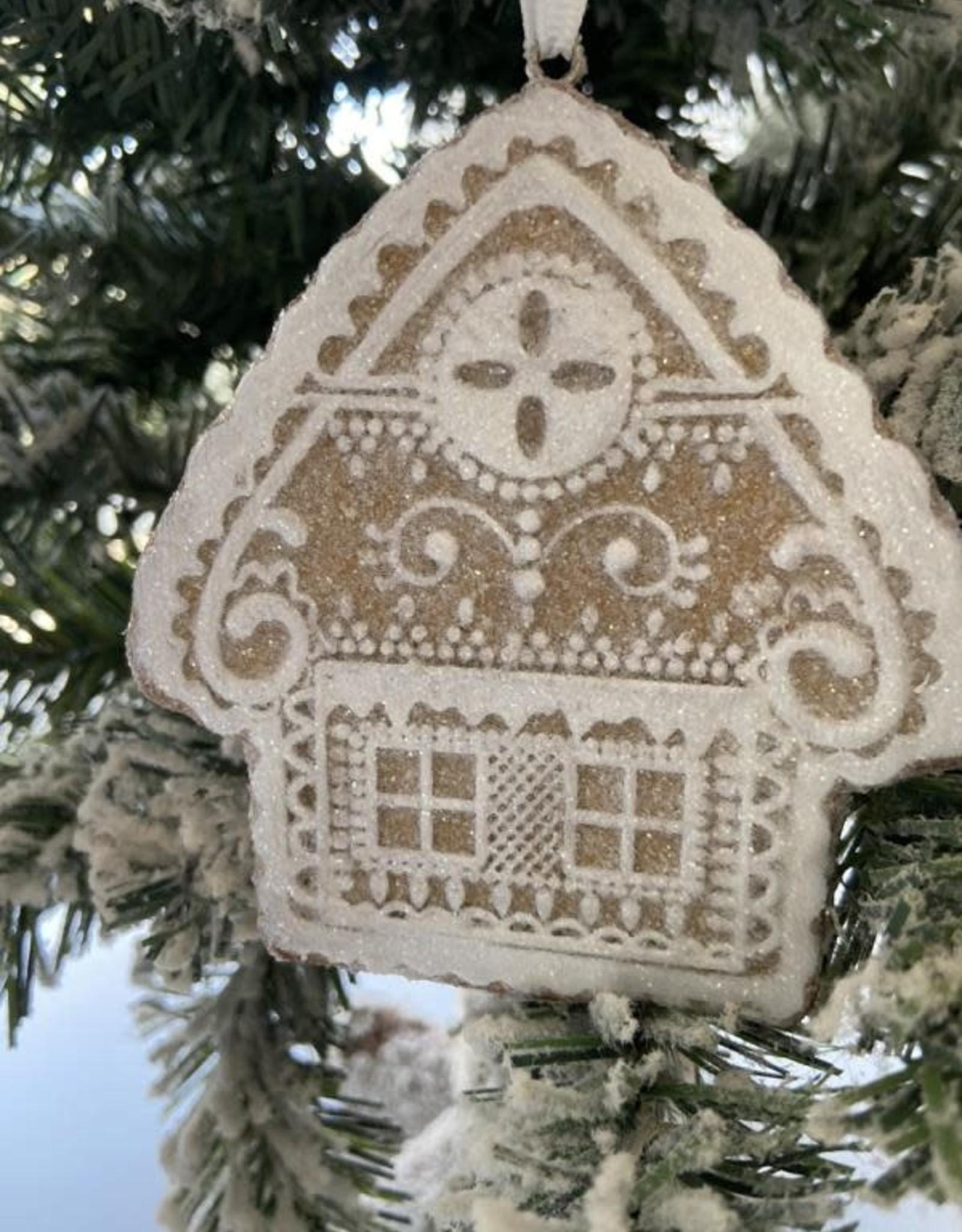 EDG Kerstkoekje huisje 11 cm