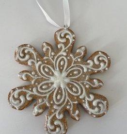 EDG Kerstkoekje kerstster 11 cm