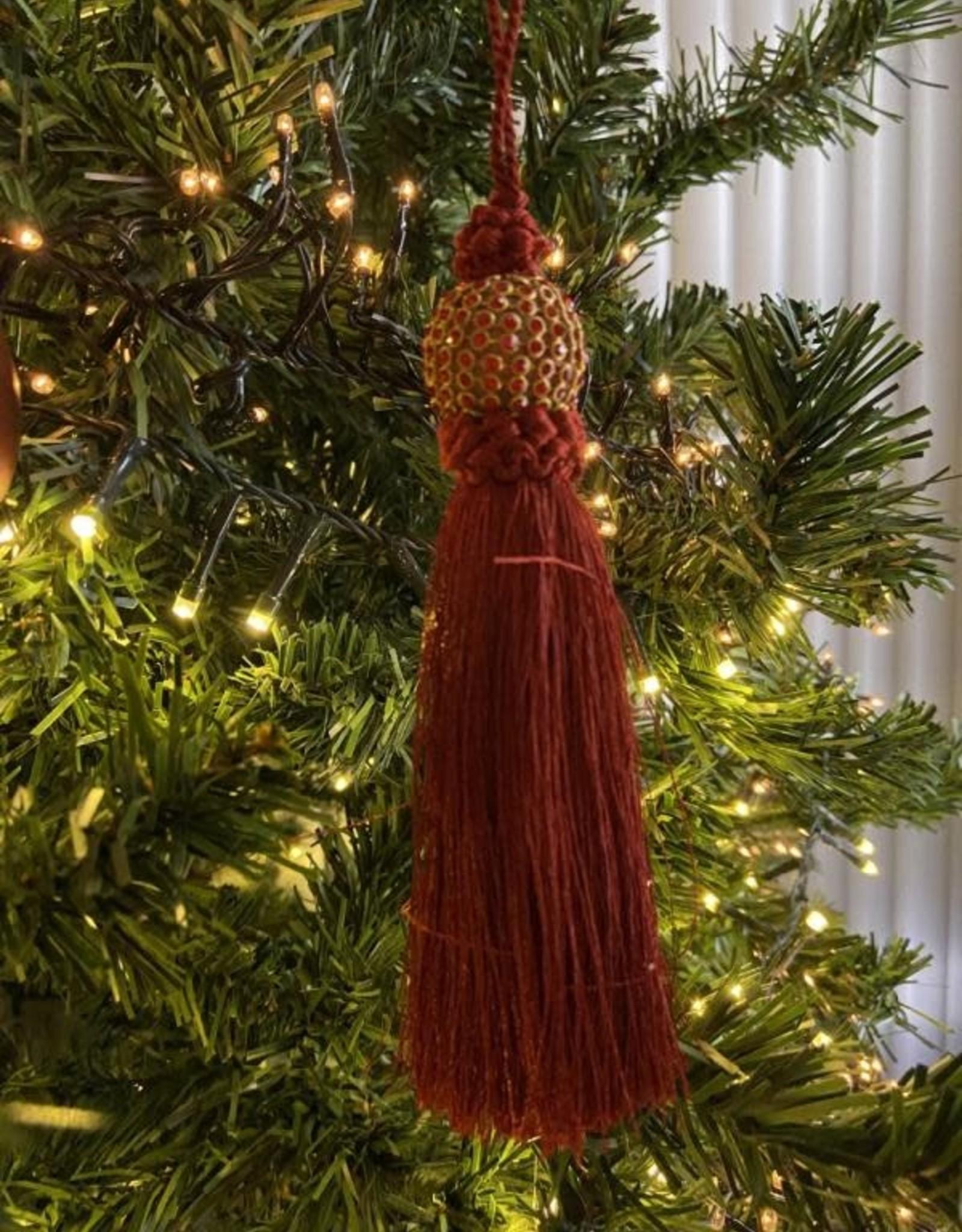 EDG Kerstkwispel rood/bordeaux