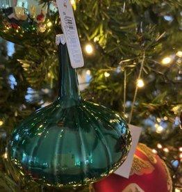 EDG Kerstbal kegel groen 8 cm