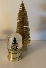 EDG Schudbal met kersttafereel klein