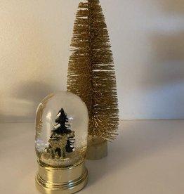 EDG Schudbal met kersttafereel 10cm