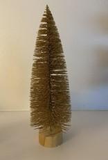 EDG Glitter kerstboompje goudkleuring