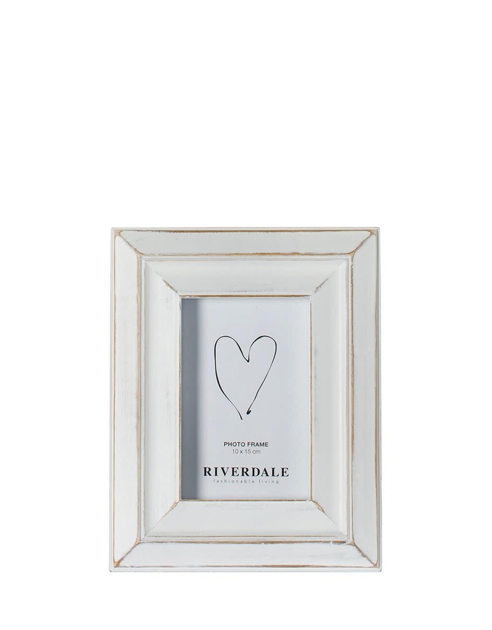 Riverdale FOTOLIJST HOUSTON WHITE 10X15CM (kader 3)
