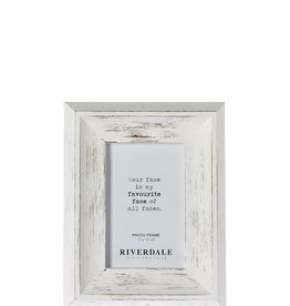 Riverdale FOTOLIJST AUSTIN WHITE 10X15CM (kader 5)