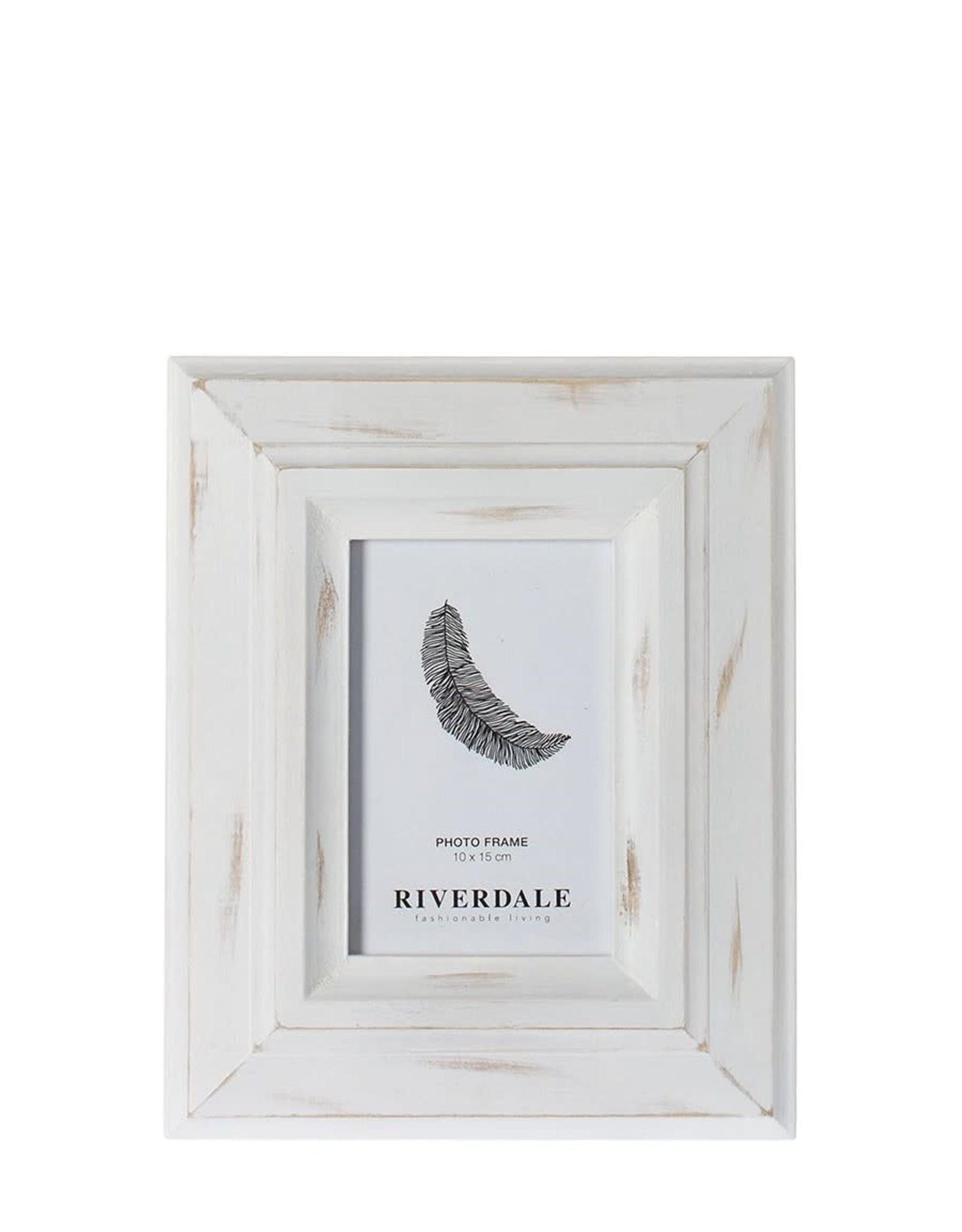 Riverdale FOTOLIJST MEMPHIS WHITE 10X15CM (kader 7)