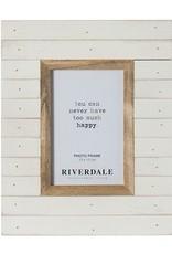 Riverdale Fotolijst Dallas wit 10X15CM (kader 8)
