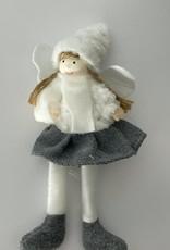 Niet specifiek Het meisje met de engelenvleugels 18cm