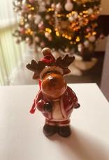 Niet specifiek Kersthanger Rendier 9cm