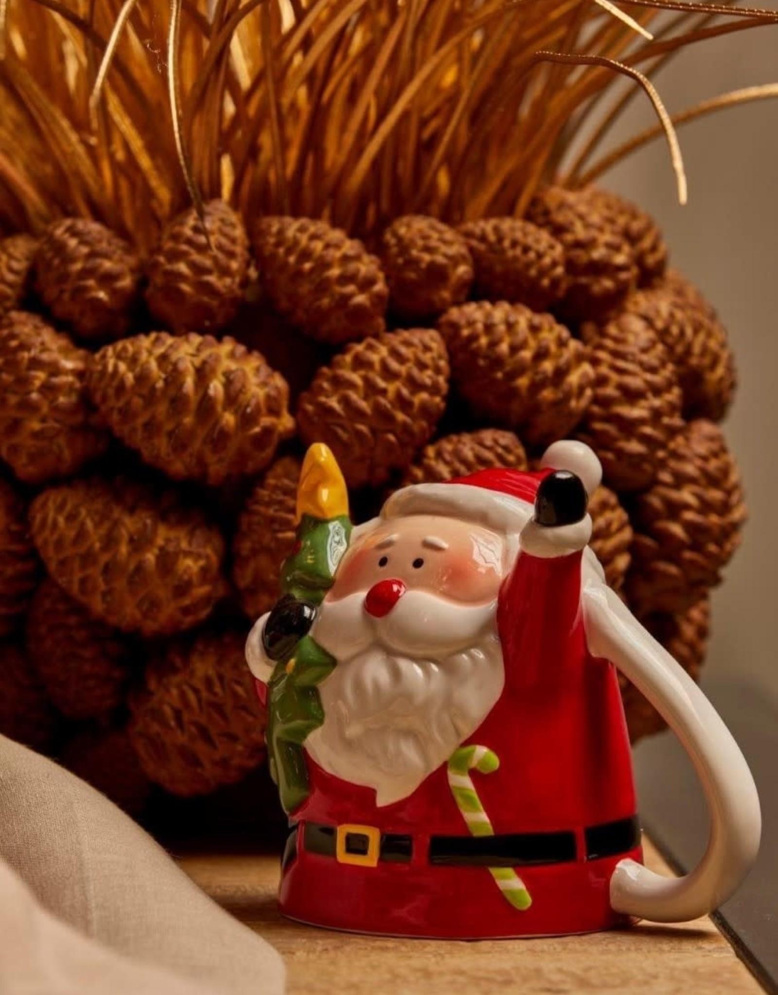 EDG Mok up side down 12 cm kerstman