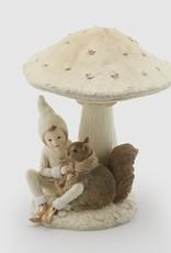 EDG Jongen onder de paddenstoel .H24 B9 wit/bruin