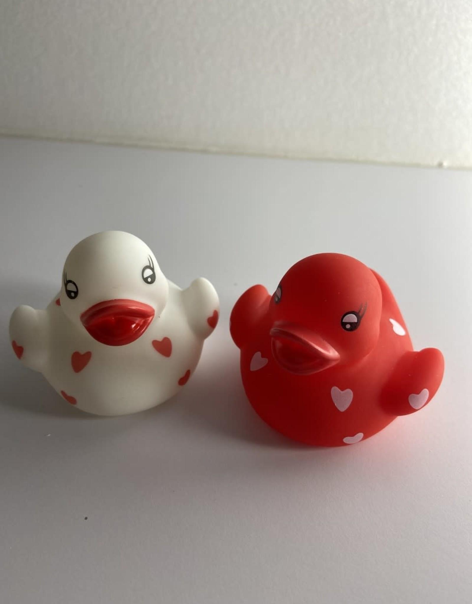 Niet specifiek Duo Lighting up ducks 'cupids lovers'