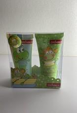 Niet specifiek Badset FROGS in giftbox Aloe Vera