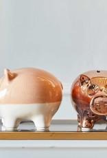 Riverdale Groot spaarvarken piggy bank pink 20 cm