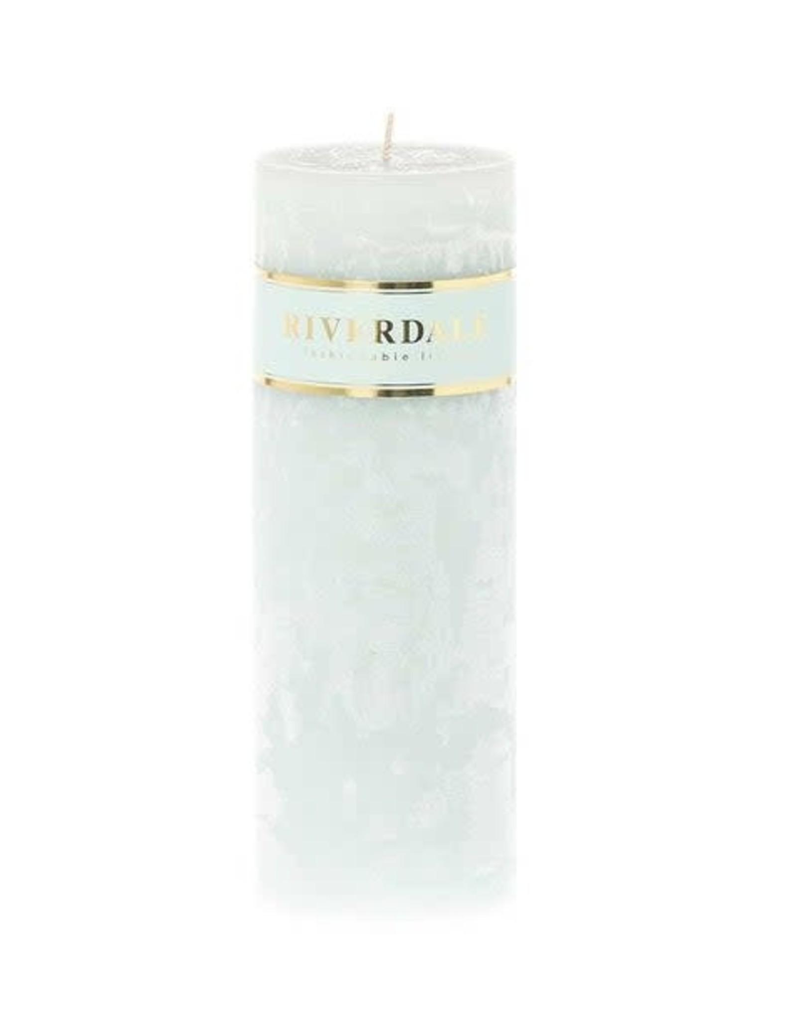 Riverdale Kaars Pillar mint 7x20cm