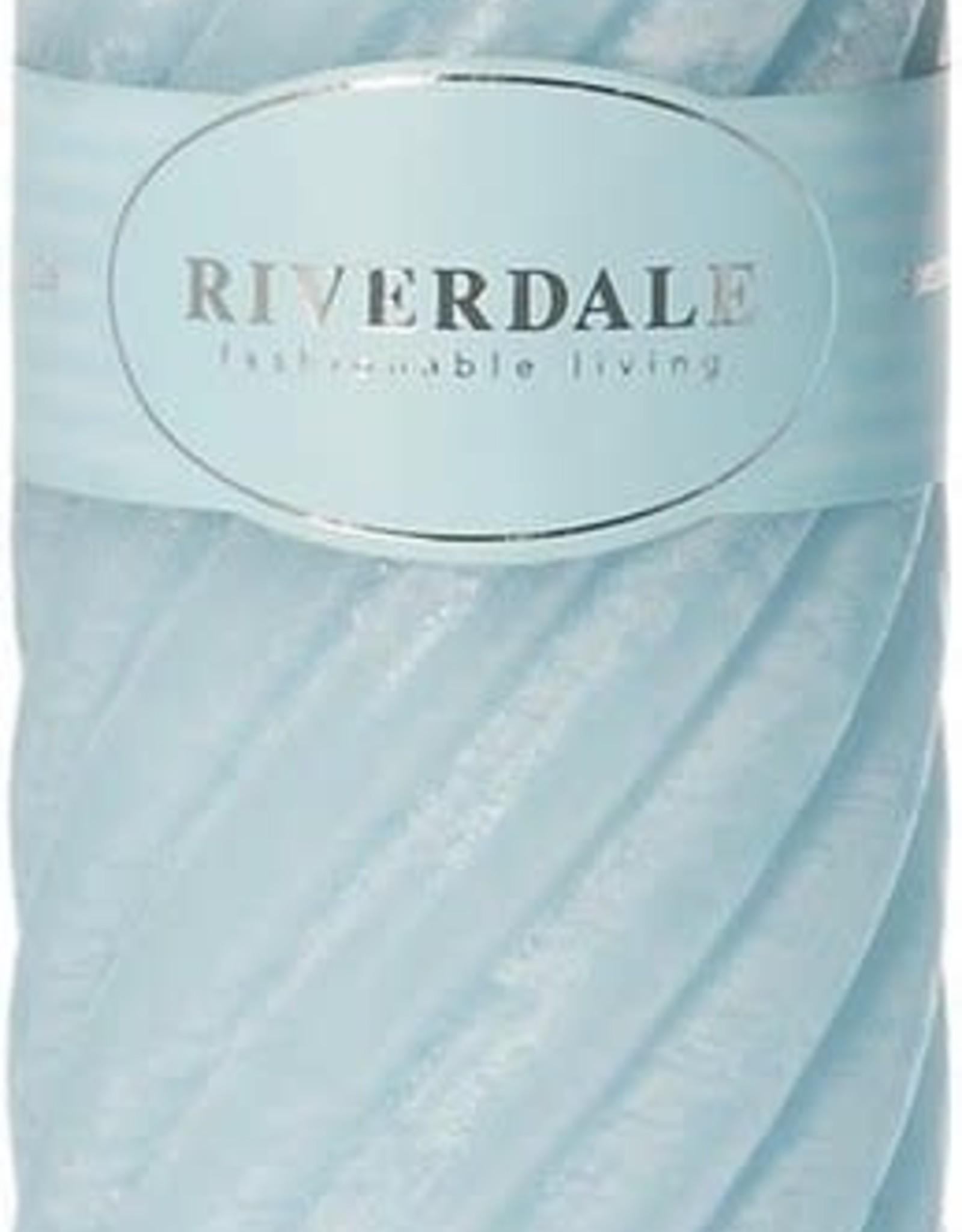 Riverdale Candle Swirl light 7.5x23cm
