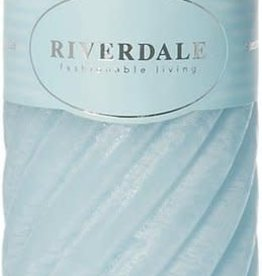 Riverdale Kaars Swirl licht 7.5x23cm