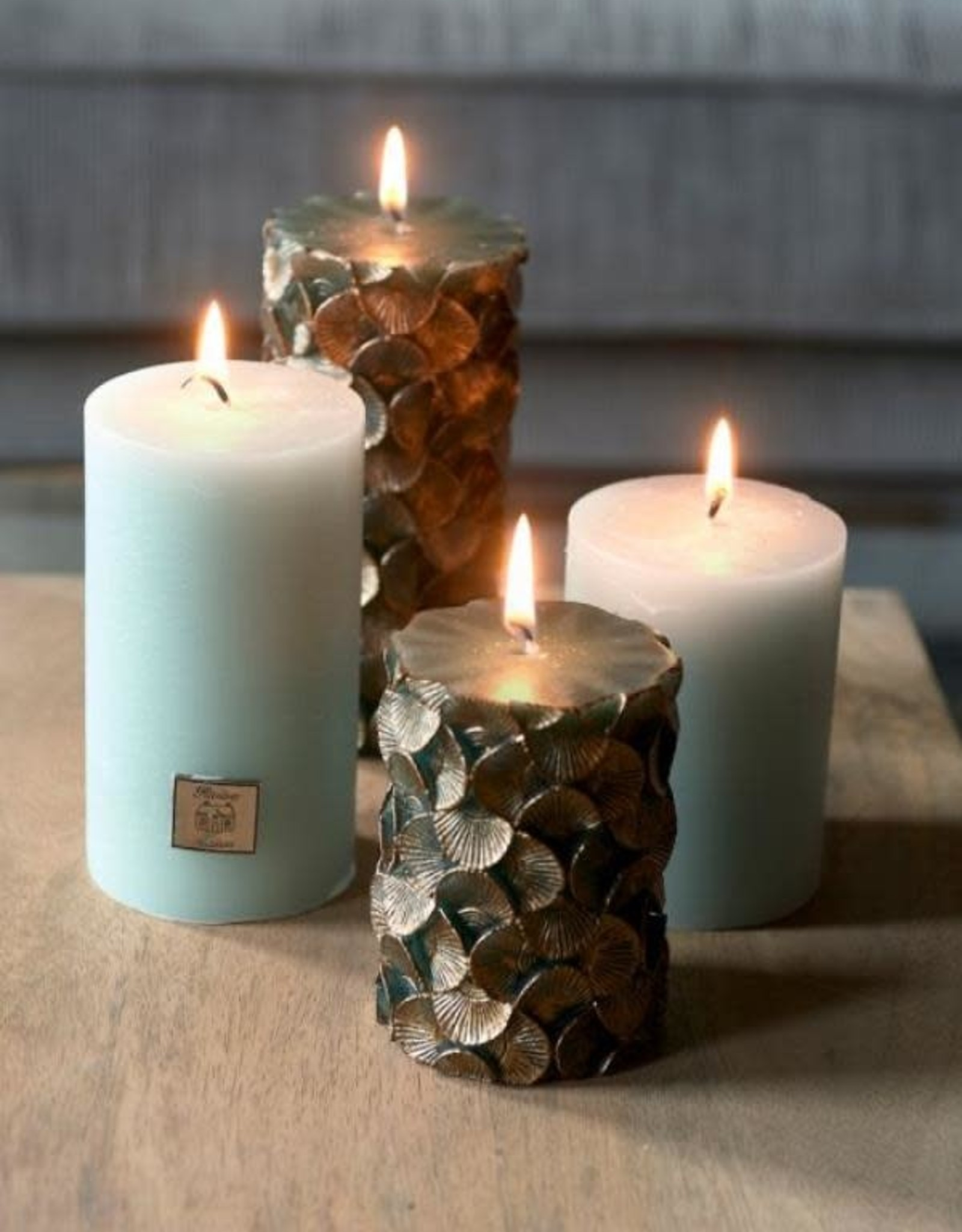 Rivièra Maison Rustic Candle matcha 7x13