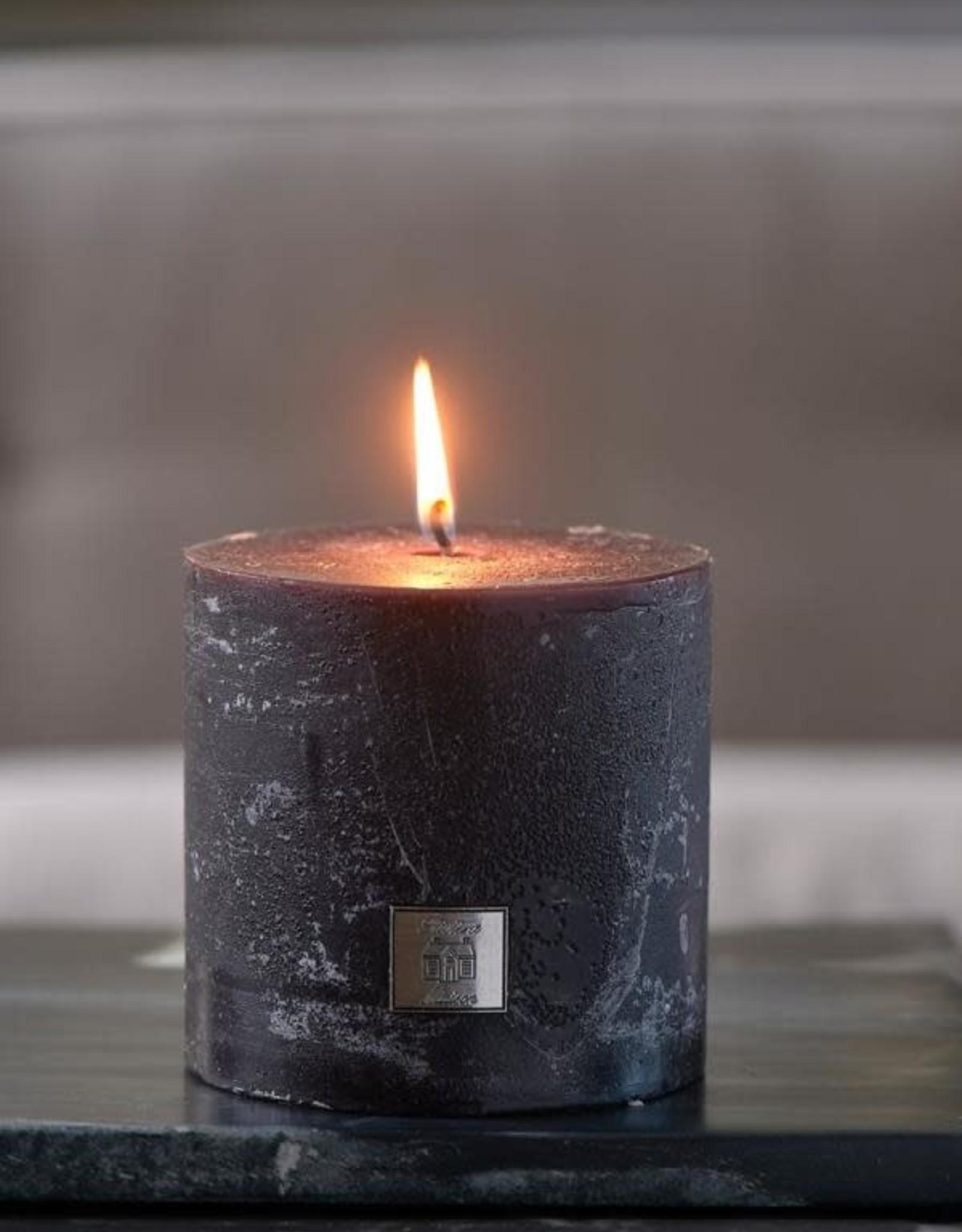 Rivièra Maison Rustic Candle black 10x10