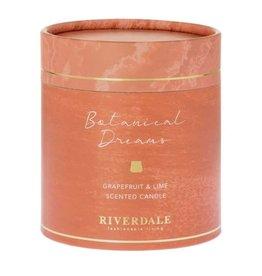 Riverdale Geurkaars Mylla burnt orange 9cm AB