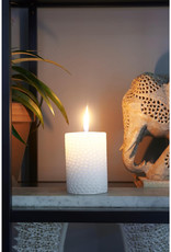 Rivièra Maison Coral Reef Candle white 7x10