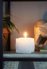 Rivièra Maison Happy Fish Square Candle white