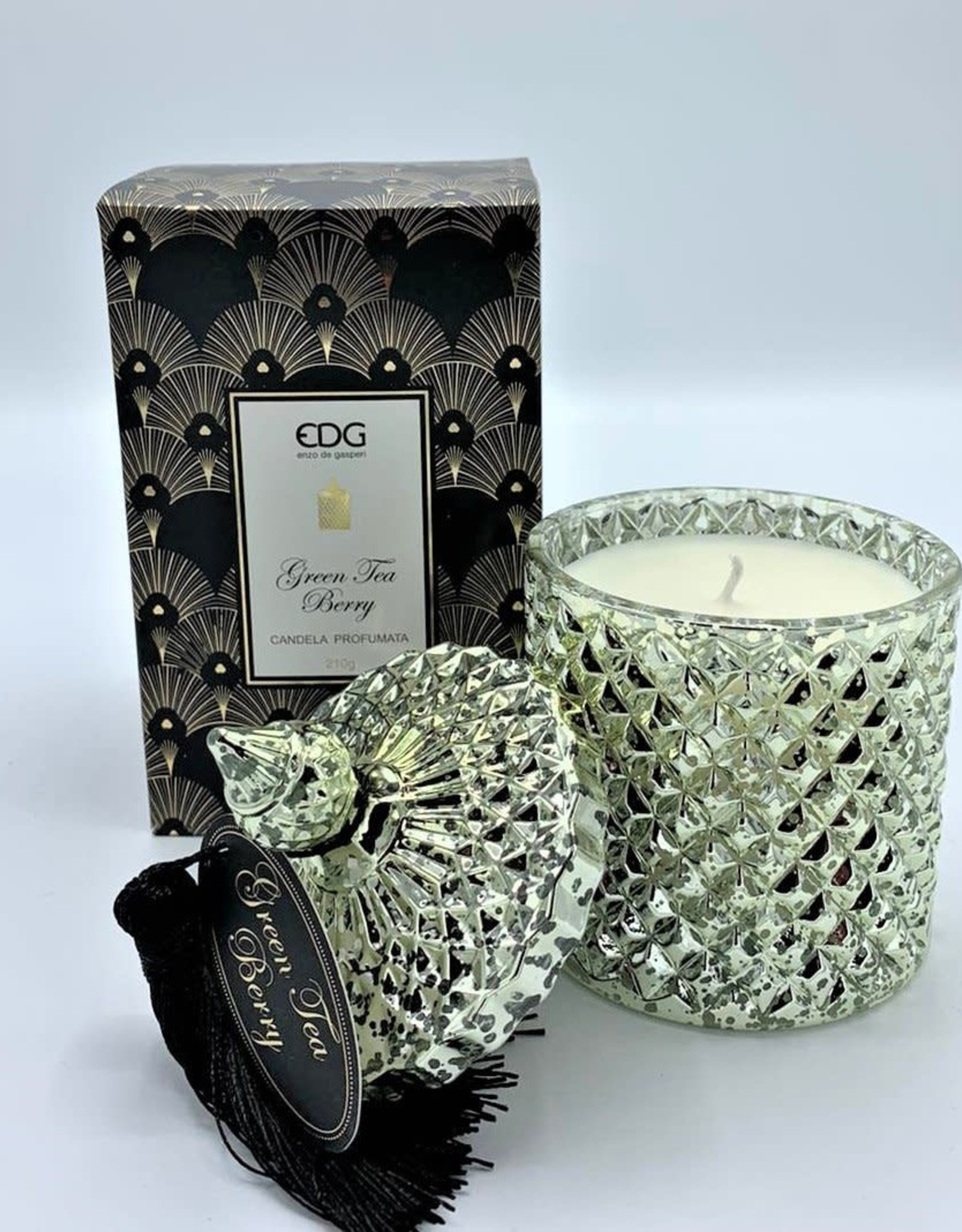 EDG Geurkaars gold EDG Green tea