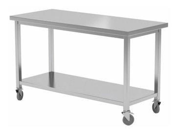 Werktafel met wielen